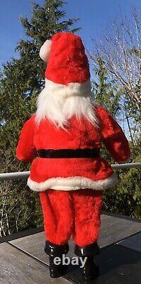 Vintage Santa Claus Christmas Store Display Advertising Standing Harold Gale