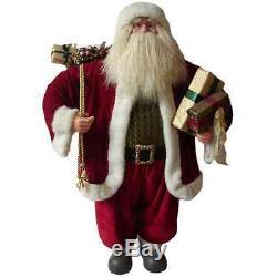 Vintage Santa Claus Christmas Tree Holiday Decorations