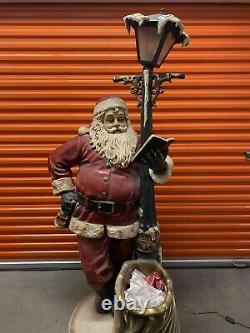 Vintage Santa Claus Department Store Christmas Display Macys Bon Marche AMAZING