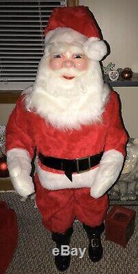 Vintage Santa Claus Harold Gale Pepsi Ad