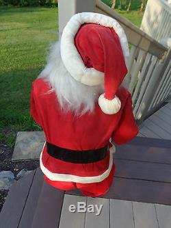Vintage Santa Claus Store Display Harold Gale 38#2