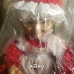 Vintage Telco Motion-ettes Rocking Mrs Santa Claus Animated Figure Working