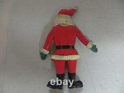 Vintage Yuletide Enterprises Rubber Bendy Santa Clause Christmas Figure Rare