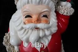 Vintage rare large Santa Claus bank over 15 tall