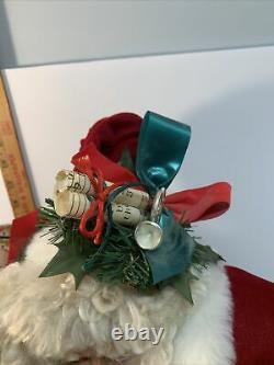 Vtg 1992 Santa Claus Tilly Collectibles Limited Edition St. Nicholas 377/500