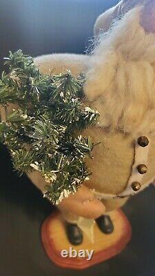 Vtg ESC Trading Company Santa Claus Handmade 16 Figure Primitive Folk Art Doll