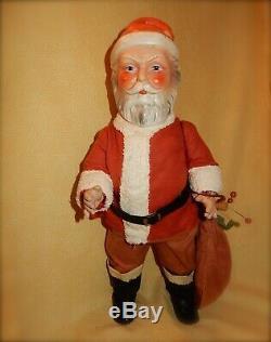 WOW 19 Composition German Santa Claus in Original Costume c. 1915