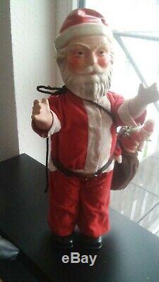 WOW 19 Composition German Santa Claus with moving head about. 1910