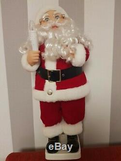 Weihnachtsmann 80er Jahre Santa Claus Nikolaus Deko Figur 60cm Weihnachten