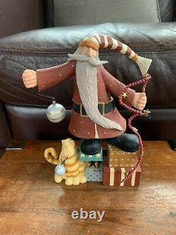 WilliRaye Studio Santa Claus Christmas Figure Sculpture WW 2558 Vintage